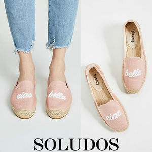 ★SOLUDOS★Ciao Bella刺繍★エスパドリーユ★国内発送★