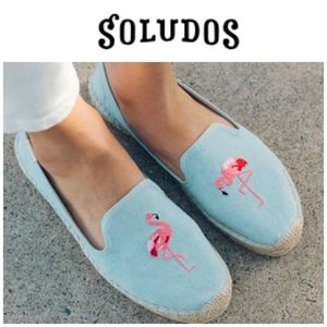 【 SOLUDOS 】●入手困難●Flamingo Platform Smoking Slipper