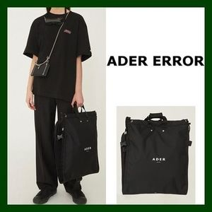 日本未入荷!【ADER ERROR】Suitcase bag(Noir)