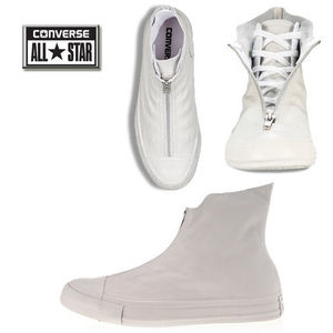 CONVERSE/CT AS LEATHER SHROUD★ジップアップ★22~25cm・2色