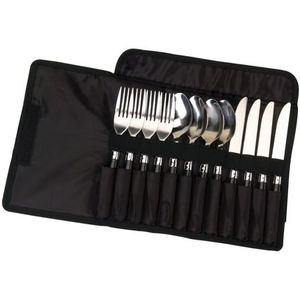 Coleman 12-Piece Stainless Steel Flatware Set