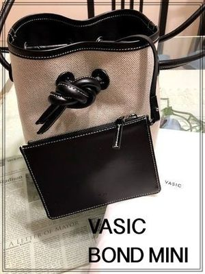 【注目♪】★VASIC×BARNEYS NEW YORK★ BOND MINI キャンバス地