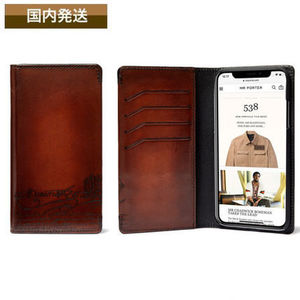 送料関税込☆Berluti☆Scritto Leather IPhone XS Case