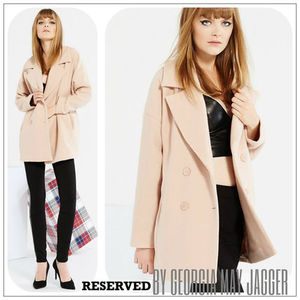 ★【 RESERVED♪by Georgia May Jagger】WOOL COAT★
