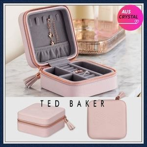 [TED BAKER]★可愛いジュエリーケース★Zipped Jewellery Case★