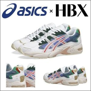国内発送・関税込【ASICS × HBX】GEL-KAYANO 5 SUNDOWN