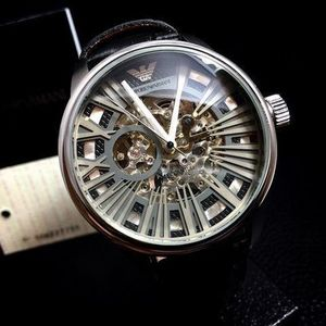 【破格☆SALE♪】 Emporio Armani AR4629 AUTOMATIC SKELETON
