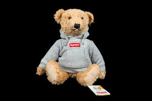 FW18 SUPREME STEIFF BEAR HEATHER GREY テディベア ぬいぐるみ
