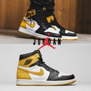 "AIR JORDAN 1 RETRO HIGH OG ""YELLOW OCHRE"" - ジョーダン1"