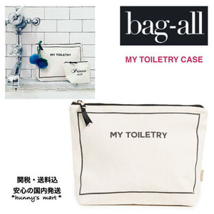 【Bag-all】関送込 NY発♡MY TOILETRY CASE  旅行 ポーチ