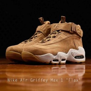 Nike Air Griffey Max 1 'Flax' 人気のウィートカラー