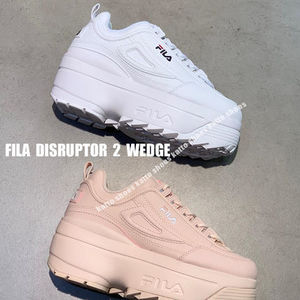 FILA★DISRUPTOR 2 WEDGE★ロゴ★厚底★3色