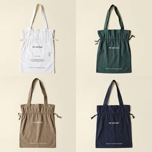 ★she said that★Linen Signature Bag 全4色【追跡送料込】