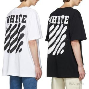 OFF WHITE 19AW Incomplete Spray paint半袖Tシャツ★関税送料込