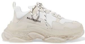 ★BALENCIAGA★TRIPLE S CLEAR SNEAKERS