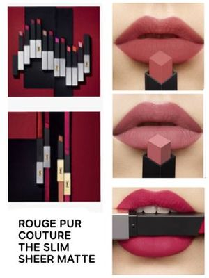 〈YSL〉★NEW★ROUGE PUR COUTURE THE SLIM SHEER MATTE