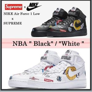 安心追跡付発送★Supreme★18SS Nike x NBA Air Force 1
