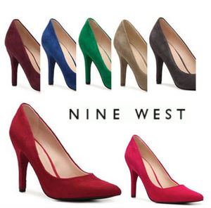 Sale★【Nine West】スエードパンプス★Gwendle Pump