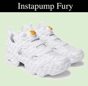 VETEMENTS  Reebok Instapump Fury Emoji スニーカー
