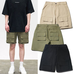 ★ona★韓国 カーゴパンツDOUBLE POCKET CARGO HALF PANT【2色】