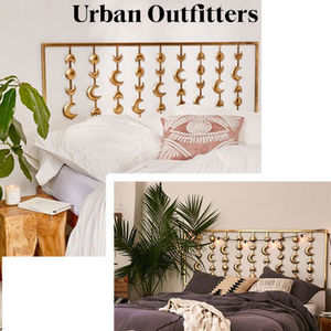 ☆Urban Outfitters  ムーンフェーズ*ヘッドボード☆送関込