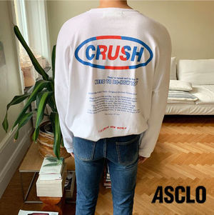 ASCLO Crush Straight T-SHIRT  s606