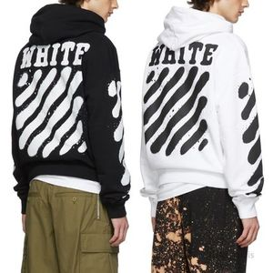 OFF WHITE★19AW★Incomplete Spray paintフーディ★関税&送料込