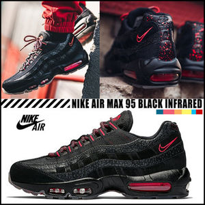 【NIKE】★すぐに完売★Air Max 95 Safari Black Infrared★