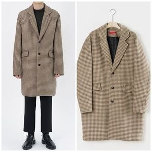 日本未入荷HI FI FNKのRess Check Half Coat