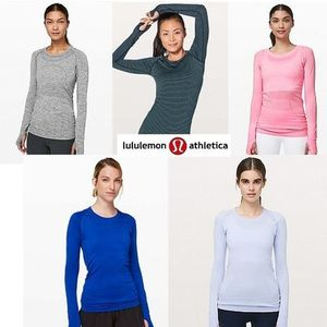 [lululemon]SALE! Swiftly Tech Long Sleeve Crew