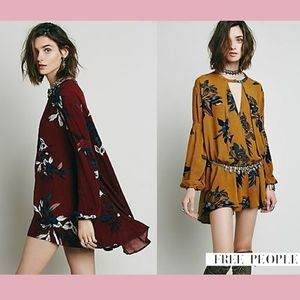 【Free People】新作★チュニックワンピOrchid