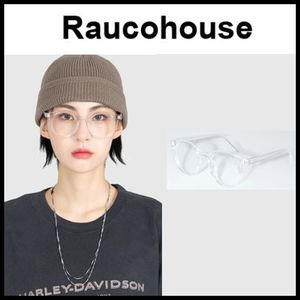 ☆RAUCOHOUSE☆ メガネ ROUND CLEAR FRAME GLASSES