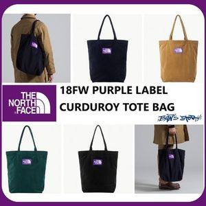 [THE NORTH FACE]  18FW PURPLE LABEL CURDUROY TOTE BAG 4COLOR