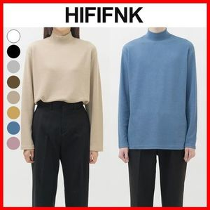 ☆韓国の人気☆【HI FI FNK】☆Tension Half Pola Top☆8色☆