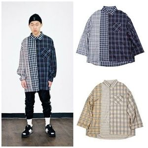 日本未入荷AJO AJOBYAJOのOver Check Mixed Shirt 全2色