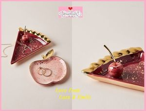 最安値保証*関送料込【Anthro】Paulette Pie Slice Trinket Dish