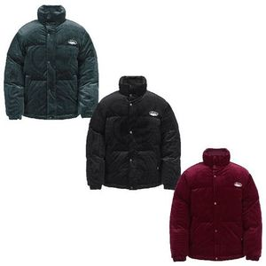 ★NERDY★韓国 ジャケットCorduroy Velvet Down Jacket Dark 3色