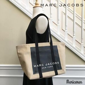 【数量限定セール!】MARC JACOBS * Canvas Logo Tote