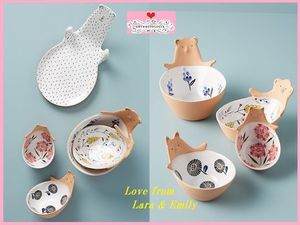 最安値保証*関税送料込【Anthro】Bear Measuring Cups, Set of 4