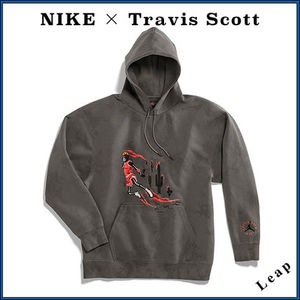 【Nike×Travis Scott】激レア Washed Suede Hoodie