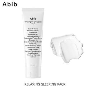 美白・肌トーン改善♪Abib■RELAXING SLEEPING PACK