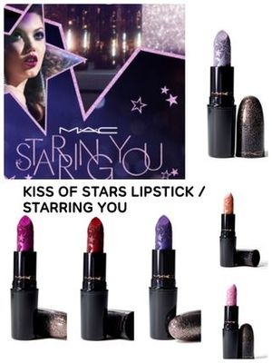 〈MAC〉★2019 ホリデー★KISS OF STARS LIPSTICK/STARRING YOU