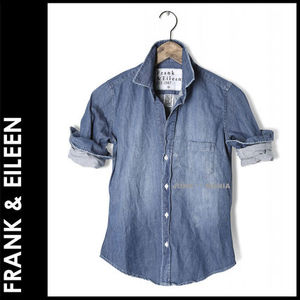 ★即日発送【関税返金・FRANK&EILEEN】BARRY/DISTRESSED DENIM