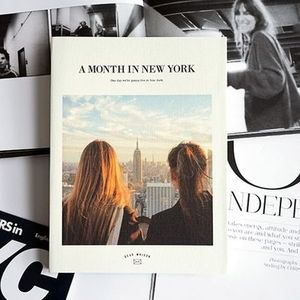 A MONTH IN NEW YORK DIARY 日付書き込み式ダイアリー