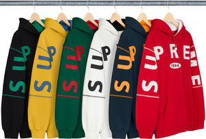 Supreme Spread Logo Hooded Sweatshirt AW19 Week 1