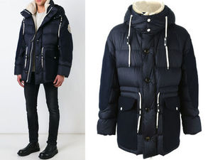 15AW MA018 Moncler a 'Orland' padded jacket