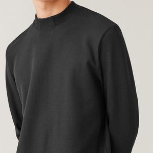 """COS MEN"" BOXY COTTON-MIX SWEATSHIRT BLACK"