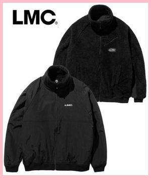 LMC★ SILKY FLEECE REVERSIBLE JACKET☆韓国発★ブラック☆