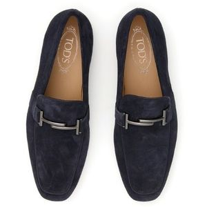 TOD'S Suede Double T Moccasins