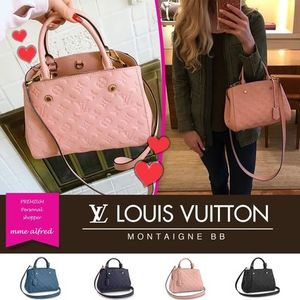 Louis Vuitton/ルイヴィトン★Montaigne BB 2WAY ハンドバッグ